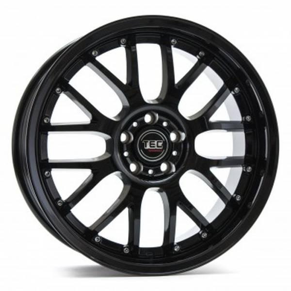 TEC GT8 black-glossy Felge 8,5x19 - 19 Zoll 5x112 Lochkreis