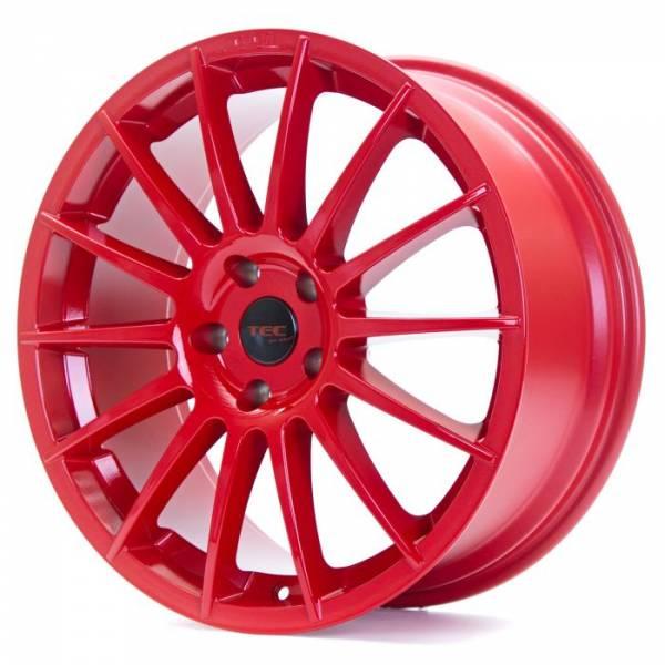 TEC AS2 red Felge 7x17 - 17 Zoll 4x108 Lochkreis