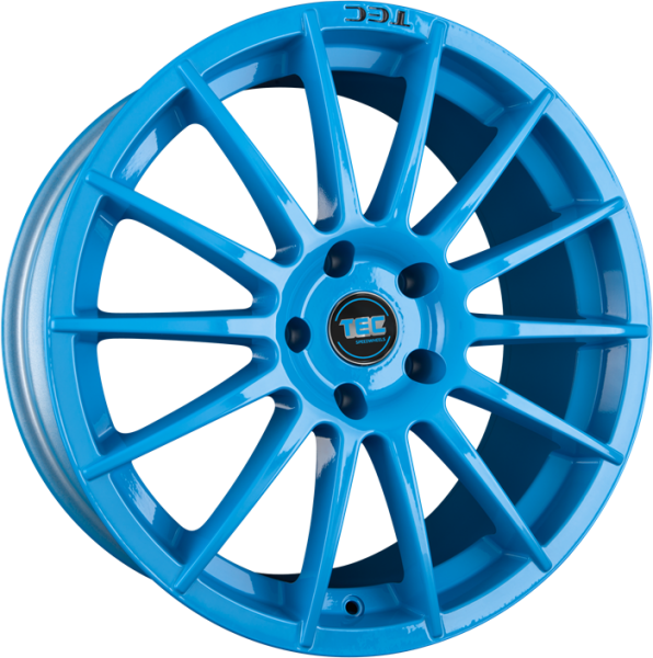 TEC AS2 smurf-light-blue Felge 8x18 - 18 Zoll 5x110 Lochkreis