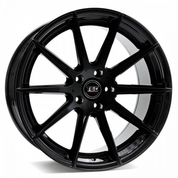 TEC GT7 black-glossy Felge 10x20 - 20 Zoll 5x114.3 Lochkreis