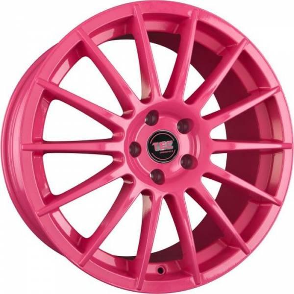 TEC AS2 pink Felge 7,5x17 - 17 Zoll 5x108 Lochkreis