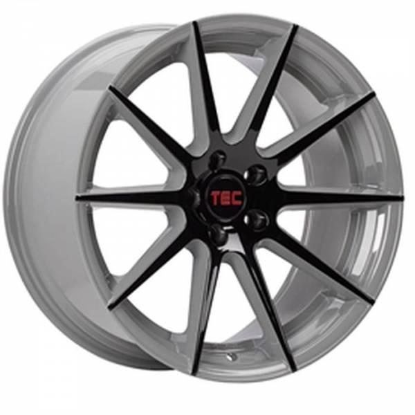 TEC GT7 black-grey 2-tone Felge 8,5x19 - 19 Zoll 5x108 Lochkreis