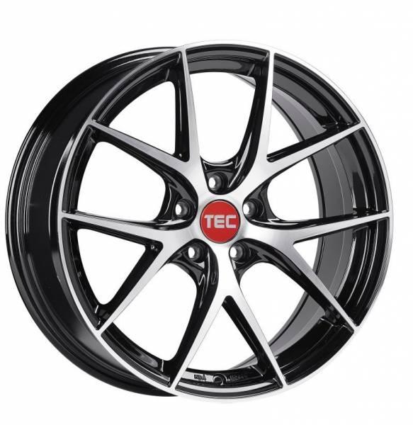 TEC GT6 EVO black-polished Felge 9x19 - 19 Zoll 5x112 Lochkreis