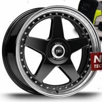 TEC GT EVO-R black-polished-lip Felge 8,5x20 - 20 Zoll 5x112 Lochkreis