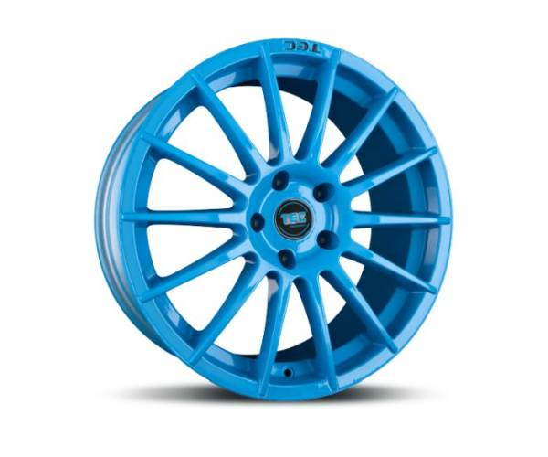 TEC AS2 smurf-light-blue Felge 7,5x17 - 17 Zoll 5x108 Lochkreis