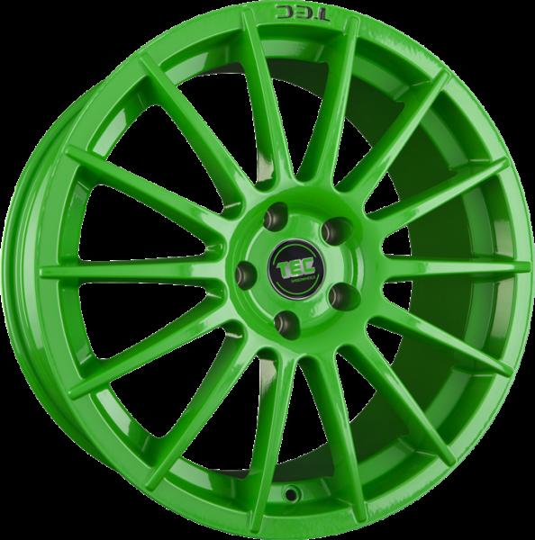 TEC AS2 race-light-green Felge 8x18 - 18 Zoll 5x110 Lochkreis