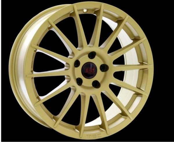 TEC AS2 gold Felge 8,5x19 - 19 Zoll 5x108 Lochkreis