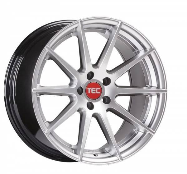 TEC GT7 hyper-silver Felge 9,5x19 - 19 Zoll 5x120 Lochkreis