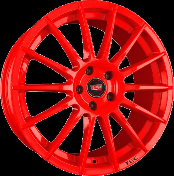 TEC AS2 red Felge 8x18 - 18 Zoll 5x110 Lochkreis