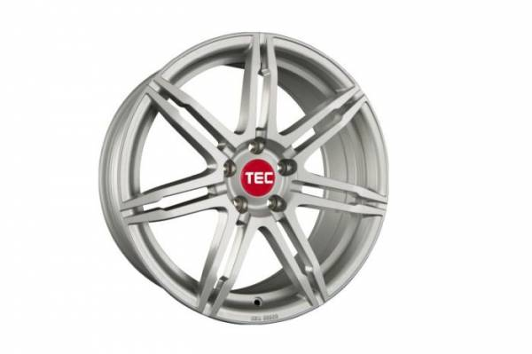 TEC GT2 sterling-silver Felge 8,5x20 - 20 Zoll 5x120 Lochkreis