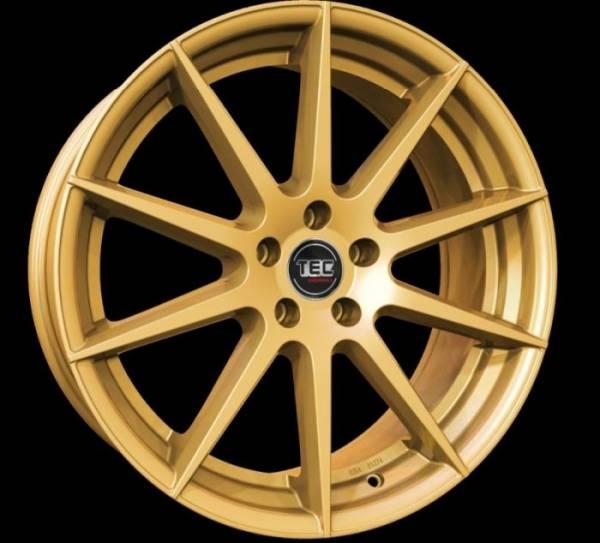 TEC GT7 gold Felge 8,5x19 - 19 Zoll 5x112 Lochkreis